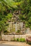 Cascade synthétique Image libre de droits