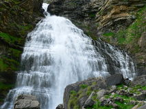 Cascade van Horsetail, Ordesa (Spanje) Royalty-vrije Stock Foto's