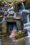 A cascade in Virginia Water, Surrey Royalty Free Stock Photos