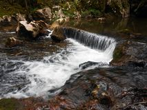 Cascade. Water clear fresh cold clear Stock Photography