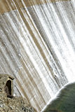 Cascade of water from a dam Royalty Free Stock Image