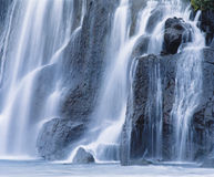 Cascade waterfall Stock Image