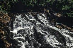 Cascade waterfall on Bali island. Indonesia. Cascade waterfall on Bali island stock image