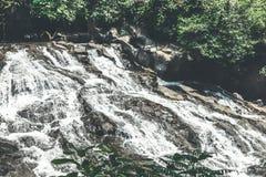 Cascade waterfall on Bali island. Indonesia. Cascade waterfall on Bali island stock images