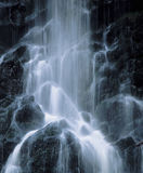 Cascade waterfall low angle view Stock Image