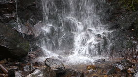 Cascade of waterval stock video