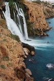 Cascades à écriture ligne par ligne à Antalya Image libre de droits
