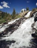 Cascades à écriture ligne par ligne - 01 Photos libres de droits