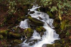 Cascades à écriture ligne par ligne Photo stock