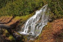 Cascades à écriture ligne par ligne Photos libres de droits