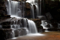 Cascades à écriture ligne par ligne Photo libre de droits