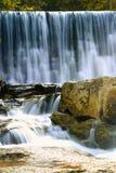 Cascades à écriture ligne par ligne dans Karpacz Photo stock