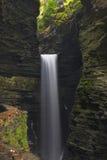 Cascades à écriture ligne par ligne de gorge Photographie stock
