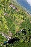 Cascades à écriture ligne par ligne de Kauai Image stock