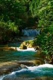 Cascades à écriture ligne par ligne de la Jamaïque Photo libre de droits