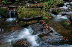 Cascades à écriture ligne par ligne de Resov photographie stock