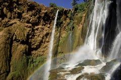 cascades à écriture ligne par ligne du Maroc Images libres de droits