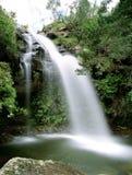 Cascades à écriture ligne par ligne en Afrique du Sud photographie stock libre de droits