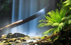 Cascades à écriture ligne par ligne en Australie Photographie stock
