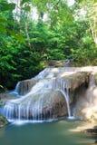 Cascades à écriture ligne par ligne en Thaïlande Image stock