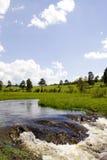 Cascades à écriture ligne par ligne sur Zlatibor Photo libre de droits