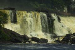 Cascades à écriture ligne par ligne Venezuela Images stock