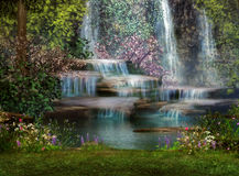 Free Cascades Royalty Free Stock Images - 24050009