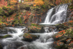 Cascades Photographie stock libre de droits