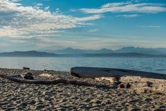 Cascades From Alki Stock Photo