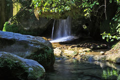Cascades through the beautiful Gorges de la Siagnole Royalty Free Stock Photos