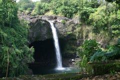 Cascades d'île Images libres de droits