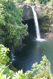 Cascades d'île Images stock