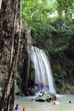 Cascades d'Arawan images libres de droits
