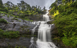 Cascades d'Attukad au Kerala, Inde Photo libre de droits