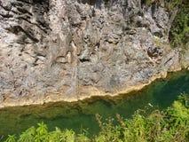 Cascades d'EL Nicho Image libre de droits