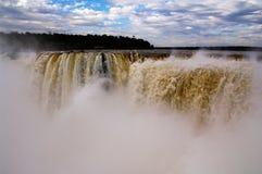 Cascades d'Iguacu images libres de droits