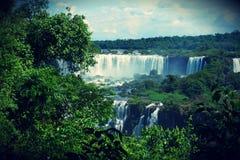Cascades d'Iguazu, Misiones, Argentine Image stock