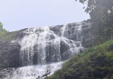 Cascades de Chinnakanal chez Periyakanal, près de Munnar, Idukki, Kerala, Inde photo stock