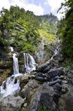 Cascades de Farchant en Allemagne Photographie stock