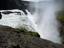 Cascades de Gullfoss, Islande Photos libres de droits