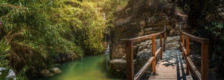 Cascades de Kalidonia Image libre de droits