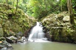 Cascades de Kionsom Images libres de droits
