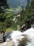 Cascades de Krimmler Photo stock