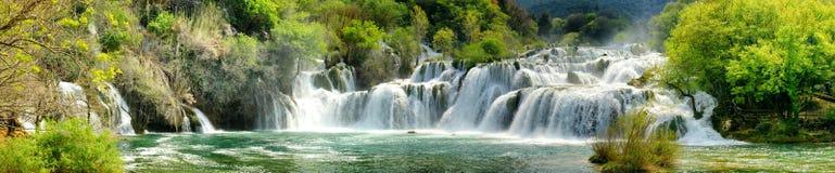 Cascades de Krka Image libre de droits