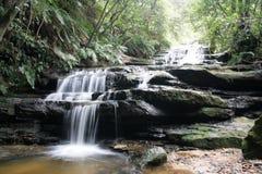Cascades de Leura Photos stock