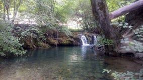 Cascades de Lisine Image libre de droits