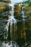 Cascades de LUSHAN Images stock