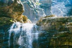 Cascades de LUSHAN Photo libre de droits