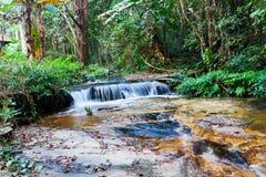 Cascades de Monthathan Image libre de droits