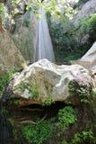 Cascades de Petra Boeotia Greece photo stock